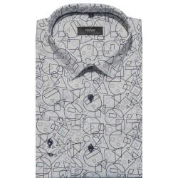 Koszula biała - wzory 019
