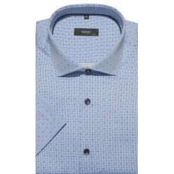 Koszula błękitna - krótki...