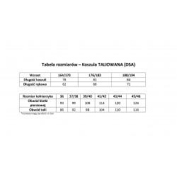 Koszula męska 15/45, wrzosowo-biały prążek, z granatowym obszyciem, SLIM FIT (by Pako Lorente)