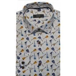 Koszula biała - wzory 872